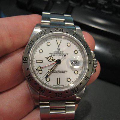 Fs: Rolex vintage explorer ii 16570
