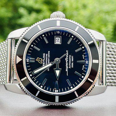 FS: Breitling Superocean Heritage. 42mm. Mesh band. A1732124. Full set.