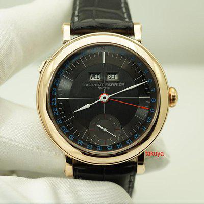 FSOT:MINT Laurent Ferrier GALET MONTRE ECOLE ANNUAL CALENDAR ROSE GOLD 2020 FULL SET