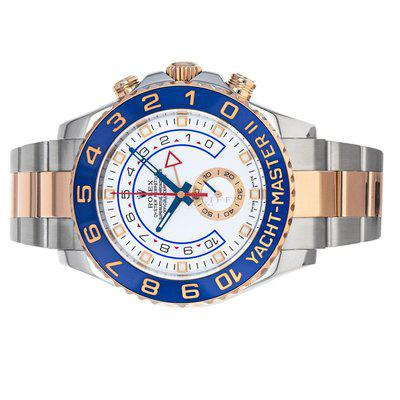 Rolex 116681 Yacht Master II Box Papers Steel & Everose