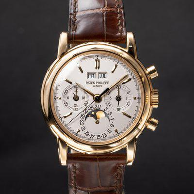 FS: Patek Philippe 18K YG Perpetual Calendar 3970 with Box and Papers