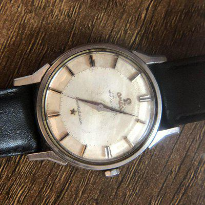 SOLD - Omega Constellation Pie pan Dogleg 167.005 damaged dial - for project - Euro 650