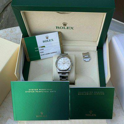 FS: Rolex 114200 Oyster Perpetual 34MM Silver Dial