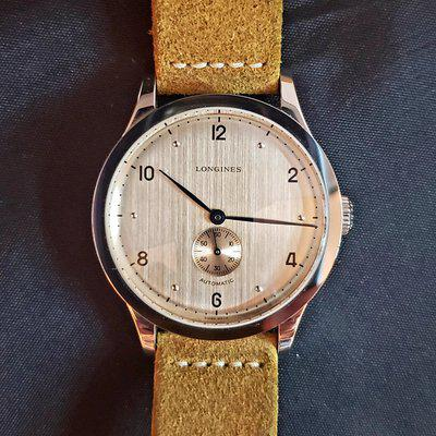 [WTS] Longines Heritage 1945: Barely Worn & Extra Straps L2.813.4.66.0