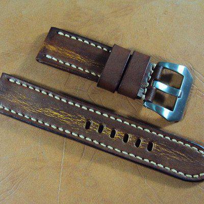 FS:A2237~A2249 Panerai custom straps include black and orange crocodile strap.Cheergiant straps