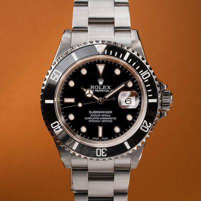 FS: 2000 Rolex Submariner 16610 with Papers