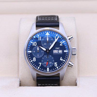 FSOT: IWC Pilot Chronograph 41 Blue Dial IW388101 – 2021 Box & Papers