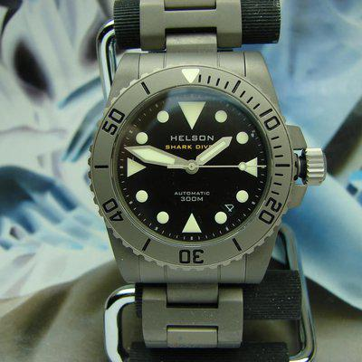 For Sale HELSON SHARK DIVER 38 Titanium AS NEW .. SOLD OUT