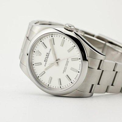 fsot - Rolex Oyster Perpetual - 114300 - White - OP39 ( excellent / complete )
