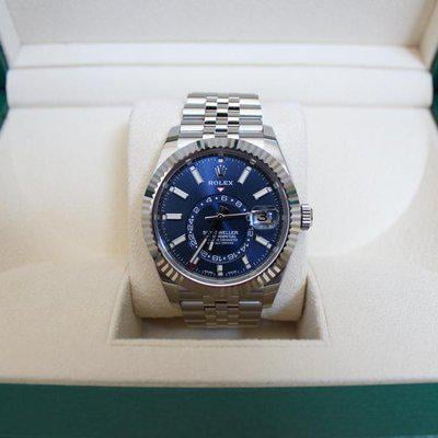 FSOT: LNIB Rolex 326934 Sky-Dweller Blue Dial 42mm on Jubilee - New 2021 Release and June Dated!