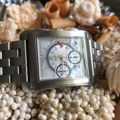 FS: Bedat #7 Chronograph w/ Brushed Stainless Case & Bracelet...