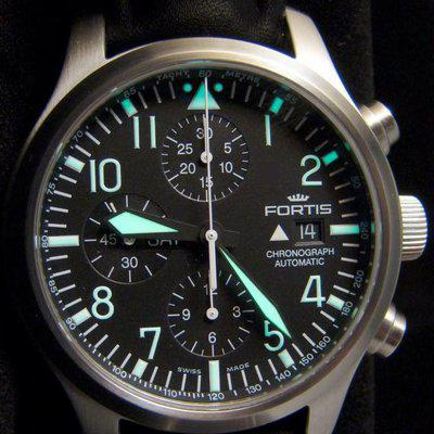 FS: PRICE DROP $1400 -OBO - FORTIS B-42 PILOT CHRONOGRAPH Day/Date - Bracelet with Box, Papers & Extras