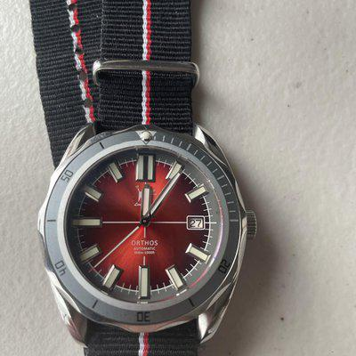 FS Lew and Huey Orthos Red Dial