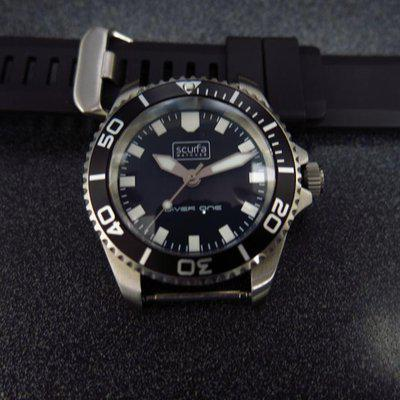 SOLD - Scurfa Diver One No Date full kit with extra bracelet and extra straps