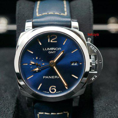 FSOT:Panerai PAM 688 LUMINOR 1950 3 DAYS GMT BLUE DIAL 42MM LIMITED EDITION COMPLETE