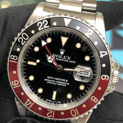 [emoji3590]Highly collectible: GMT master II 1988 with killer lumes!!