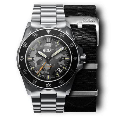 For sale RGMT Dive watch comouflage dial with bracelet and full kit