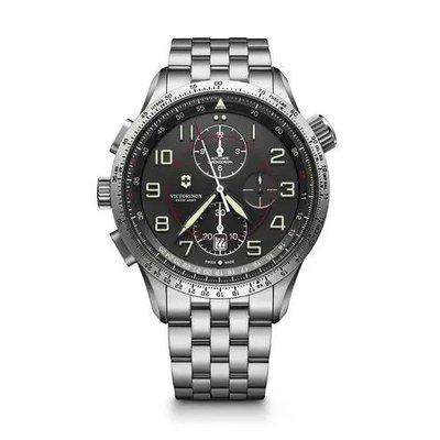 FS: Victorinox Airboss Mach 9 chronograph on bracelet - just 1 mo. old with original box and papers - $600 **price drop**
