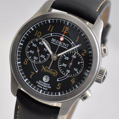 FS: Bremont Norton Black Chronograph Limited Edition to 200 43mm Steel Automatic