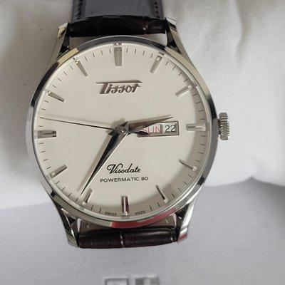 [WTS] Tissot Visodate Powermatic 80 Stainless with Brown Strap (Reduced)