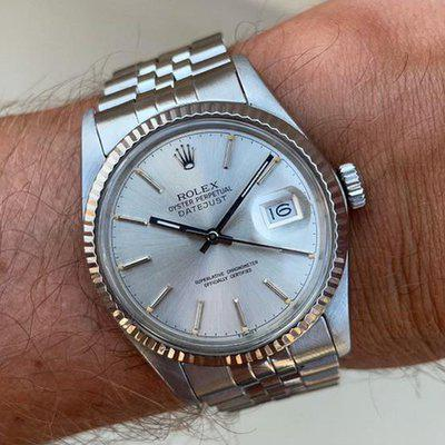[WTS] 1984 Rolex Datejust with box and papers - $5400