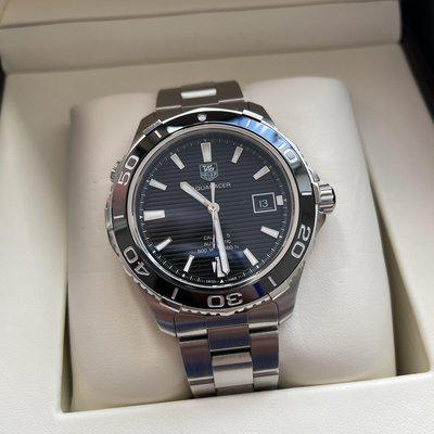 FS: Tag Heuer Aquaracer 500m / 41mm / black