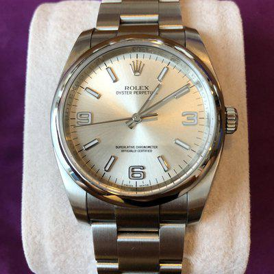 [WTT/WTS] Rolex Oyster Perpetual 116000 369 Silver Arabic Dial 36mm *Reduced*