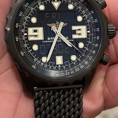 FS: Breitling Chronospace PVD Limited Edition