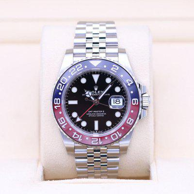 FSOT: Rolex GMT Master II Pepsi 126710BLRO Stainless – 2019 Box & Papers