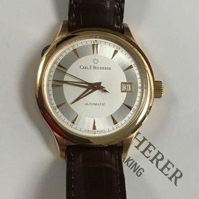 FS: CARL F. BUCHERER 18K ROSE GOLD MANERO