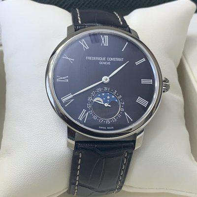 FSOT BNIB Frederique Constant Slimline Moonphase $2400 Paypal and others accepted
