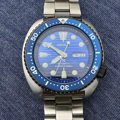 """Seiko 4R36-05H0 Save The Ocean """"Special Edition"""" $220.00"""