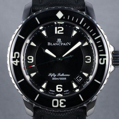 FS: 2014 Blancpain Fifty-Fathoms Ref: 5015-1130-52A with Box and Papers
