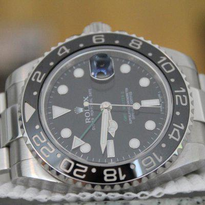 FS: Rolex 116701LN GMT-Master II SERVICED DECEMBER 2019 WITH BOXES! CERAMIC BEZEL!!!