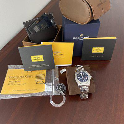 SOLD BreitlingAvenger ll GMT (A3239011) Price Reduction