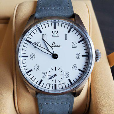 [WTS] Laco Topper Limited Edition Flieger, Lacquer dial, heat-blued hands & indices