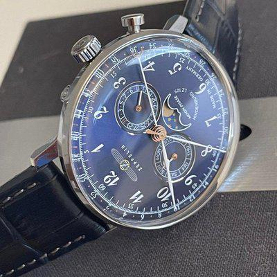 [WTS] Graf Zeppelin Moonphase Calendar VERY LIKE NEW - 180$ Shipped (REDUCED)