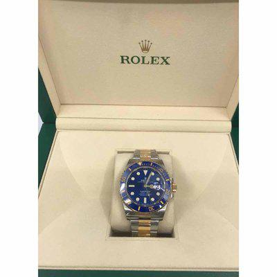 FS: Rolex Submariner Date 41mm 126613LB Blue Dial Two-Tone Yellow Gold Oyster Watch