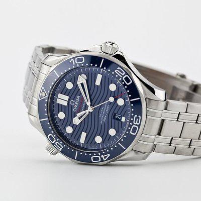 fsot - Omega Seamaster 300 - 42mm - 8800 - Wave Dial - Blue / Bracelet ( new / 2020)