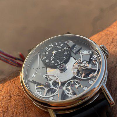 Breguet Tradition 7027 in White Gold