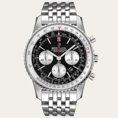 FS: BREITLING Navitimer B01 Chronograph 46mm AB0127211B1A1 - US$7268. Authentic and Brand New.