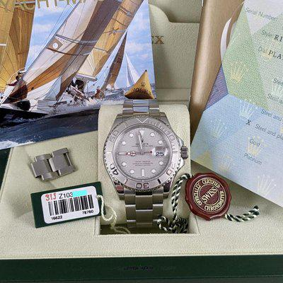 FS: Rolex Mens 40mm 16622 Yachtmaster Z Serial Full Set Only $8995