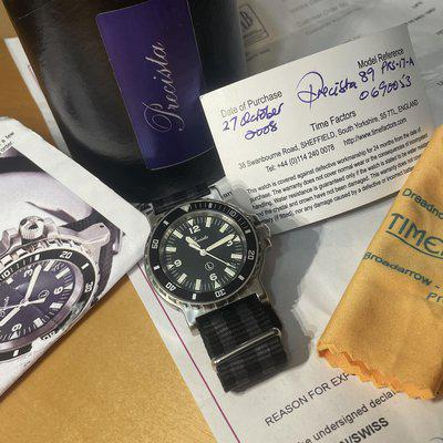 FS: PECISTA 17 A: BOX AND PAPERS (FULL SET - ORIGINAL OWNER)