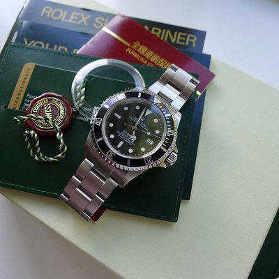 FS: UNPOLISHED Rolex Sea-Dweller 16600 M Serial 2008 with Box and Paper