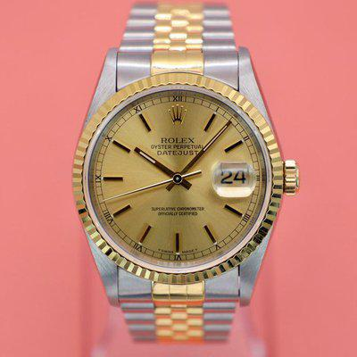 FS: 1995 Rolex Datejust Ref. 16233| Champagne Dial | Papers