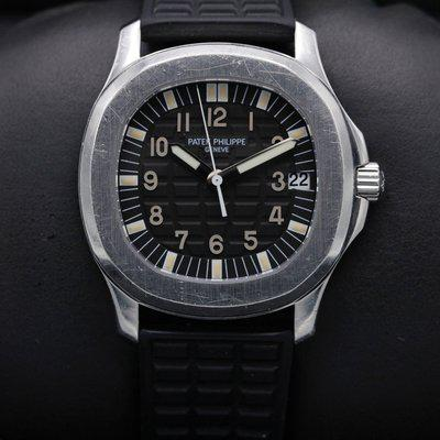FSOT: Patek Philippe - 5066 - Aquanaut - Black Dial - Stainless - 35mm - Complete Se