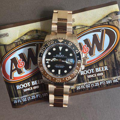 FS: Rolex 126715CHNR GMT-Master II  Root Beer  *FULLY STICKERED* NEW 2021