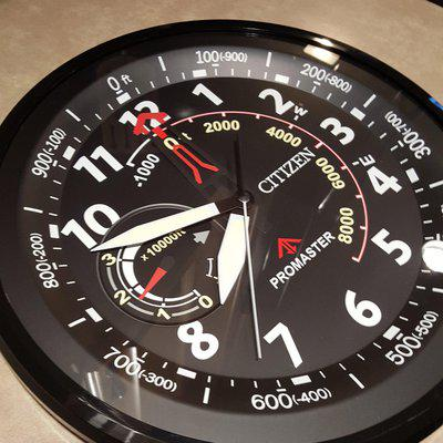 Citizen - * WALL CLOCK * - Promaster CC2014 Gallery - Copy of Altichron BN5058-07E eco-Drive - COOLEST THING EVER !