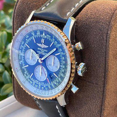 FS: Breitling Gold Navitimer 1 B01 Chronograph 46mm complete box and papers D.C area
