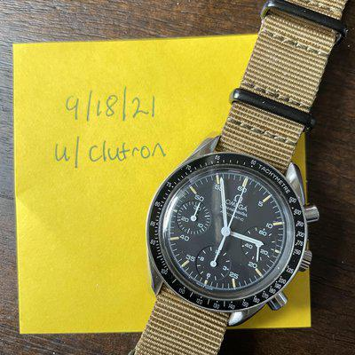 [WTS] Speedmaster Reduced Automatic 39mm
